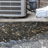 Middlesex County In-Ground Downspout Repair